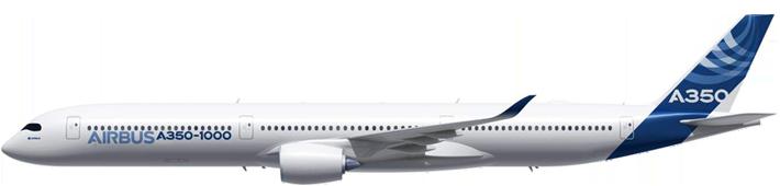 Aircraft 0007 A350 1000