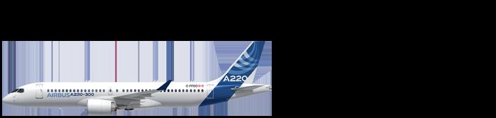 Aircraft 0013 A220 300