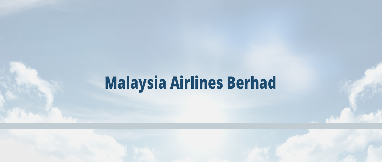 Malaysia Airlines Berhad And Air Lease Corporation Sign